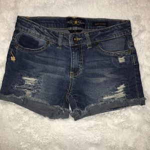 Lucky Brand 🍀 Jean Shorts Girls Size 10